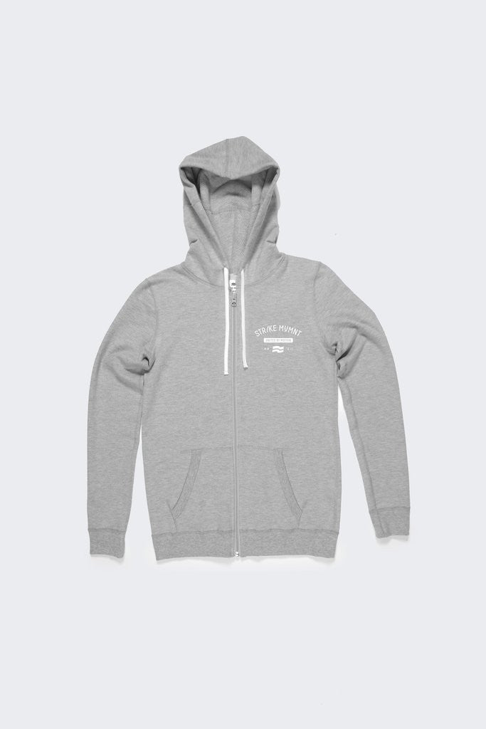 WMNS KEEPER ZIP HOODY - UNITED BY MOTION LUNAR