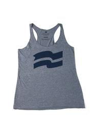 FLAG TANK GREY/NAVY