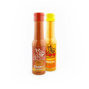 La Perrona Hot Sauce 2 Pack Gift Set Chiltepin and Habanero