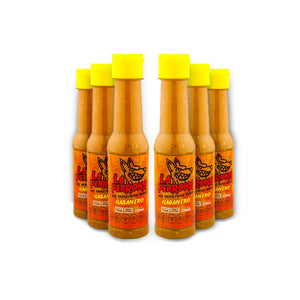 La Perrona Habanero Hot Sauce 5oz Bottle 6pk