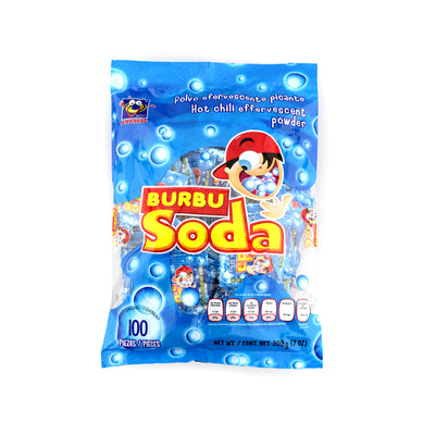 Anahuac Burbu Soda Powder Candy 100 Pieces