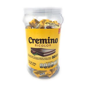 Cremino Bicolor Vitrolero Jar with 50 Pieces