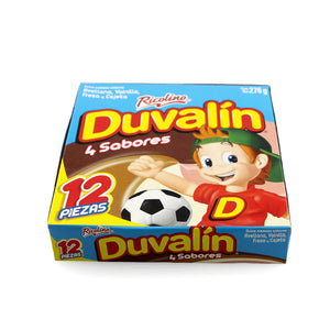 Ricolino Duvalin 4 Flavors Pack of 12
