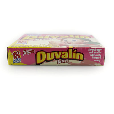 Ricolino Duvalin Strawberry and Vanilla 18 Count