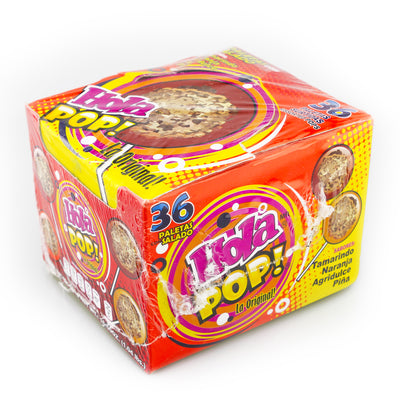 Hola Pop Lollipop with Saladitos 30 Count