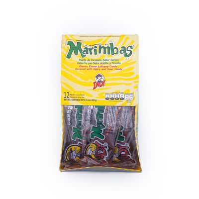 Indy Marimbas Lollipop 12 Count per Pack