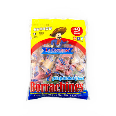 Cuculense Mini Borrachines 40 pieces per Bag
