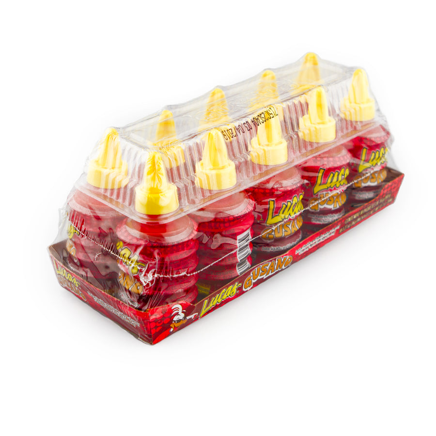 Lucas Gusano Chamoy Flavor 10 Count