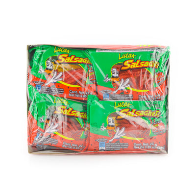 Lucas Salsagheti Watermelon 12 Pack