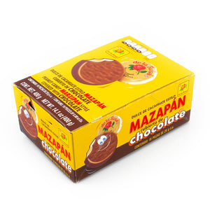 De La Rosa Regular Mazapan Chocolate Covered 16 Pieces