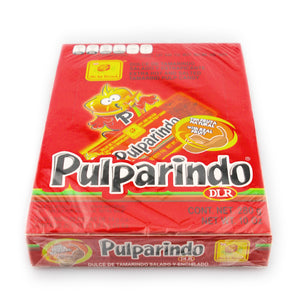 De La Rosa Pulparindo Extra Hot Flavor 20 Count Box