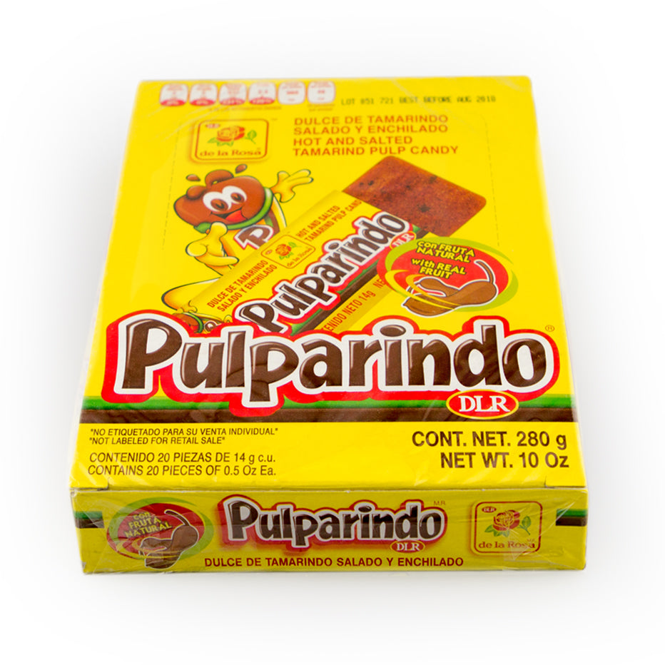 De La Rosa Pulparindo Original 20 Count Box
