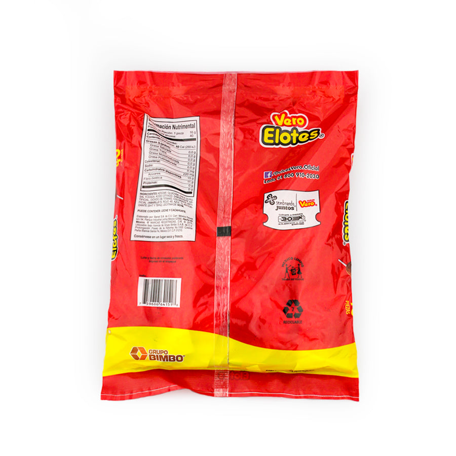 Dulces Vero Elotes Paleta 40 Pieces Bag