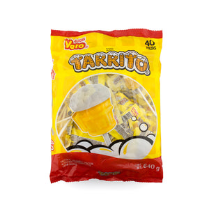 Dulces Vero Tarrito Lollipop Paleta 40 Pieces Bag