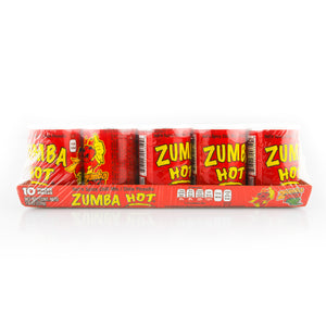 Zumba Hot Spicy Powder Candy Bottles 10 count