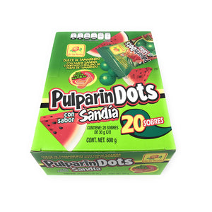 De La Rosa Pulparin Dots Sandia 20 Count Box