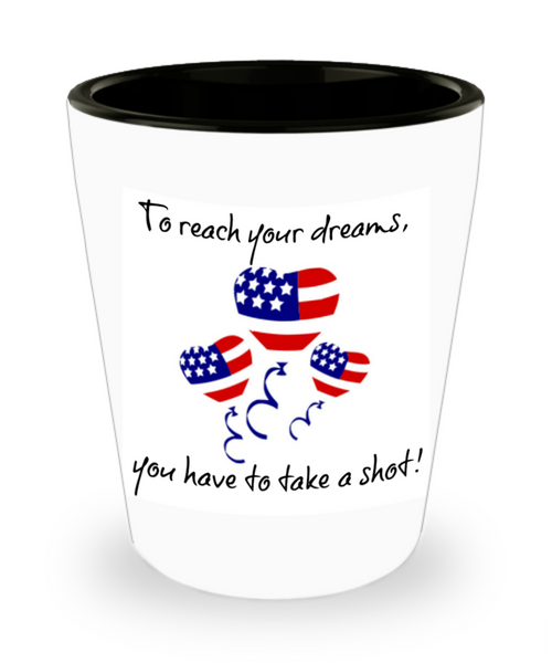 Fourth of July Shot Glass
