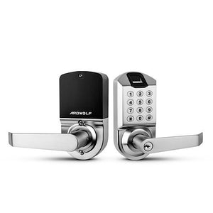 Ardwolf A1 No Drills Needed Keyless Keypad Biometric Fingerprint Door Lock - ES Whosale