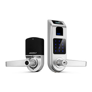 Ardwolf A10 Fingerprint Touchscreen Keyless Door Lock with Visual Menu Display - ES Whosale