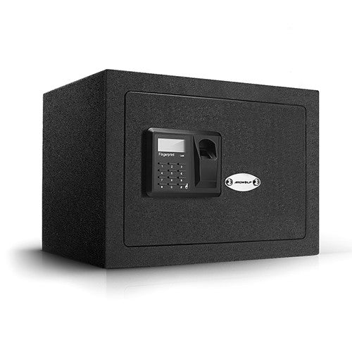 Ardwolf AS40 Security Safe Box Biometric Fingerprint Handgun Safe, Black