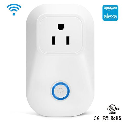 Ardwolf Smart Wi-Fi Plug, Control your devices from Anywhere, Works with Amazon Alexa,White