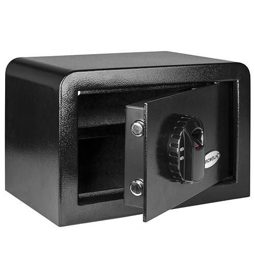 Ardwolf AS30 Security Safe Fingerprint Biometric Safe, Black - ES Whosale