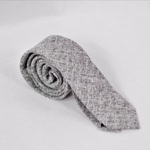 Young Businessman Tie (Grey)