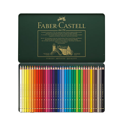 Faber Castell Colored Pencil Classic 110036 36 Colors Polychromos ...