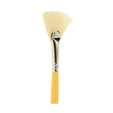 Raphael Brush No. 2  3695 Fan Brush White Bristles For Oil Colors D Artigny