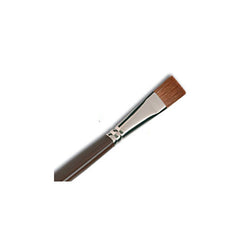 Raphael Brush No. 16 872 Short Flat Brush Red Sable Hair For Oil Fresco