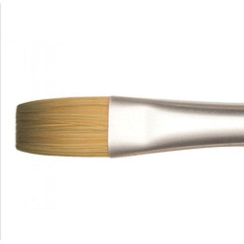 Raphael Brush No. 10 8930 Flat Brush Synthetic Sable For Acrylic Precision
