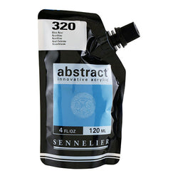 Sennelier Acrylic Color N121121 320 Azurblau Abstract 120Ml