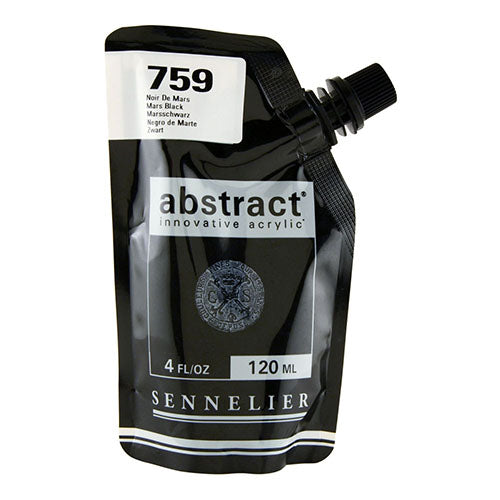 Sennelier Acrylic Color N121121 759 Mars Black Abstract 120Ml