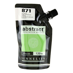 Sennelier Acrylic Color N121121 871 Bright Yellow Green Abstract 120Ml