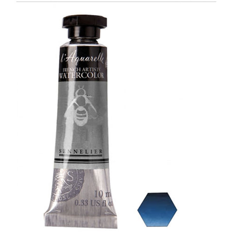Sennelier Watercolor Tube N131501 395 S3 Blue Indanthrene Aquarelle 10Ml