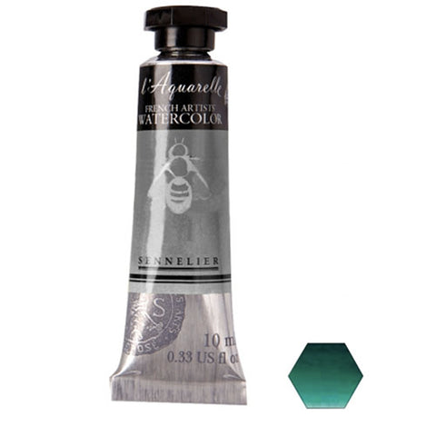 Sennelier Watercolor Tube N131501 807 S1 Phthalo Green Deep Aquarelle 10Ml