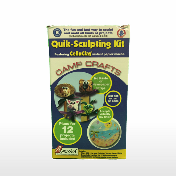 Activa Celluclay Quik Sculpt Starter 3600  Paper Mache Kit