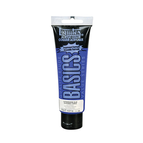 Liquitex Basics Acrylic Studio 118ml Ultramarine Blue