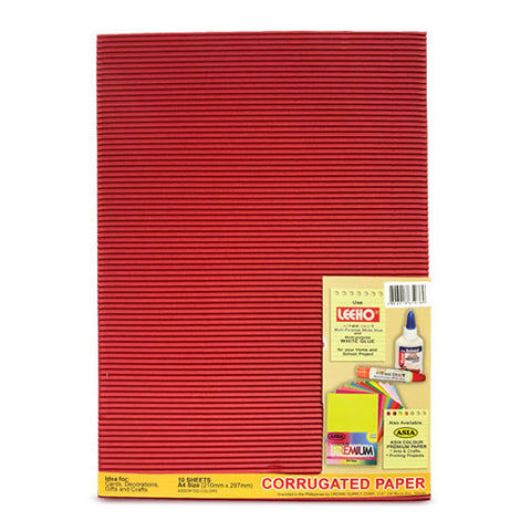 Asia Corrugated Paper A4 10Pcs Multipurpose