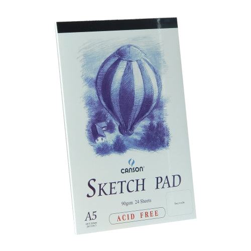 Canson Balloon Sketch Pad A5 24 Sheets