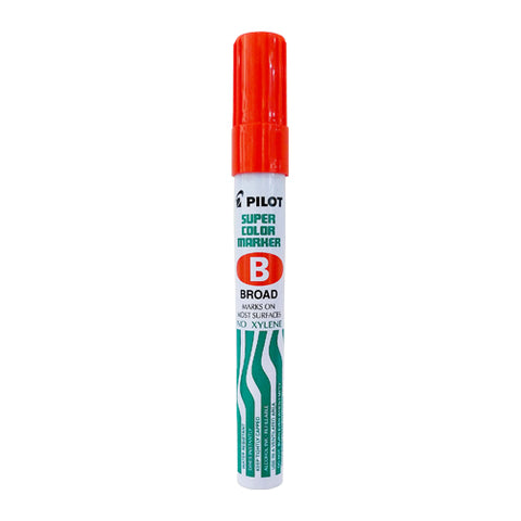 Pilot Perm Marker Reg Scab Red Broad