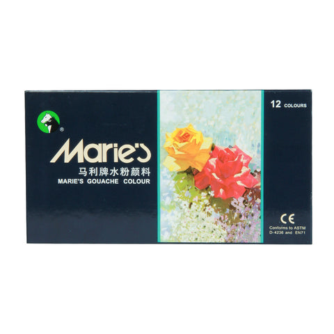 Maries Gouache Color 12 Colors 12ML