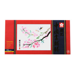Sakura Watercolor Tube Xtcw24 24Colors