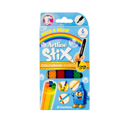 Artline Coloring Marker Set 6 Colors