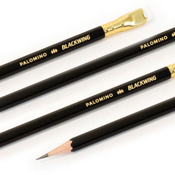 Blackwing Wooden Pencil 103780 Blkwing 12 PCS