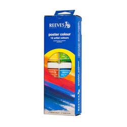 Reeves Poster Color 8890200 12CLRS 22ML