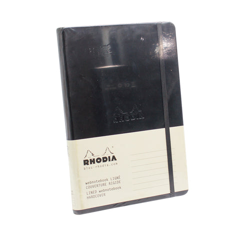 Rhodia Journal 118609 A5 Lined Black Web