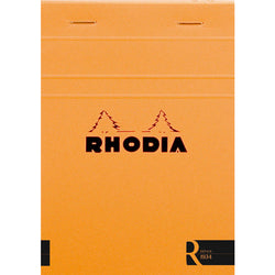 Rhodia Journal 132011 104X148Cm Head Stapled Le R Pad N13  70S Lined Orange