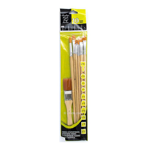 Sennelier Brush Set P10541 Acrylic Brushes Etude