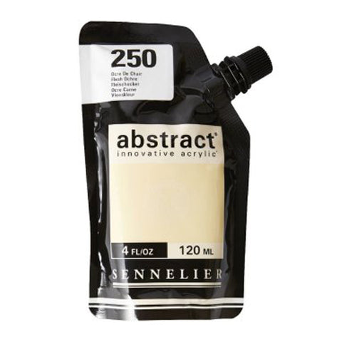 Sennelier Acrylic Color N121121 250 Flesh Ochre Abstract 120Ml